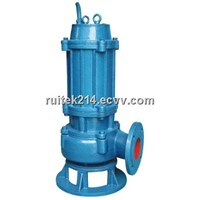 WQK Sewage Pump with Cutting Device