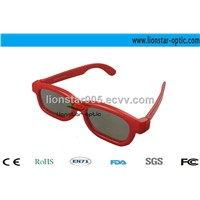 linear polarized 3d glasses with frame