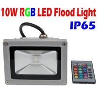 10W RGB LED Flood light Wash Floodlight Outdoor changeable Lamp with IR Remote controller colorful