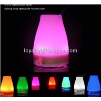 120ML Color Change LED Ultrasonic Mini Air Humidifier Purifier Home Air Humidifier
