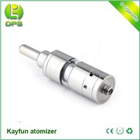 2014 China supplier new style Airflow adjustable pyrex glass kayfun atomizer