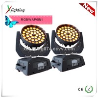 2014 New 36*18W RGBWAP 6in1 Zoom led moving WASH(X-M3618)