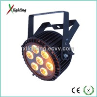 2014 New 7*15w RGBWA 5in1 Outdoor waterproof led par can led stage lighting(X-P715)