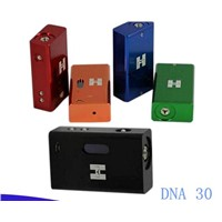 2014 dna 30 mod full mechanical mod with high quality 1:1 clone 18650 dna30 mod clone