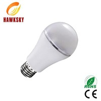 2014  cream white  color pc cove good heat sink  led bulb light  factory