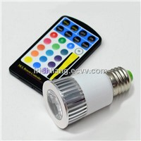 2014 long life LED RGB Spotlight bulb RGB bulb lamp