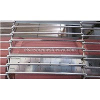 304/316 Stainless Steel Conveyor Mesh Belt For Oven