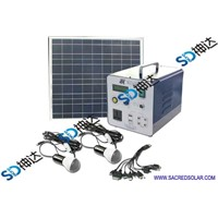 30W Small Solar Home System