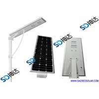 30W smart integrated solar light