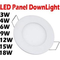 3W 4W 6W 9W 12W 15W 18W Bright CREE LED Recessed Ceiling Panel Down Light Lamp  white AC85-265V