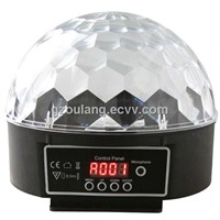 6 Channel DMX512 Control Digital LED RGB Crystal Magic Ball Effect Light DMX Disco DJ Stage Lighting