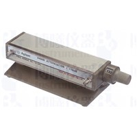 8496A Manual Step Attenuator, DC to 4 GHz, 0 to 110 dB, 10 dB steps