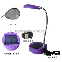 8LED Solar Desk Lamp escritorio lamp stand reading lamp lantern