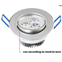 9W Ceiling downlight Epistar LED ceiling lamp Recessed Spot light 85V-245V for home illumination