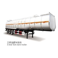 CIMC 30ton gasoline fuel transfer tank  trailer