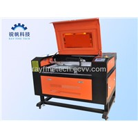 CO2 textile/cloth/acrylic/wood Laser cutting and engraving Machine RF-9060-CO2-80W(900*600mm)