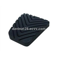 Car brake rubber pedal pad