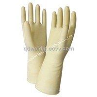 Chemical anti-acid and alkali working gloves
