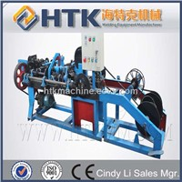 China razor blade barbed wire making machine
