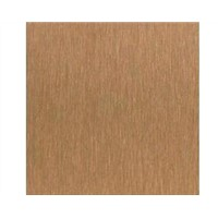 Copper Satin Finish Anti-fingerprint 304/316 Colored Stainless Steel Plate