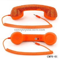 Crystal Rretro Handset for Iphone Ipad