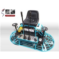 Driving concrete troweling machine