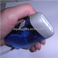 Hand Shaking  Dynamo LED Torch