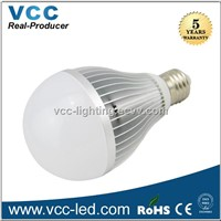 High brightness dimmable 12W led bulb, E27 CE Rohs led lamp