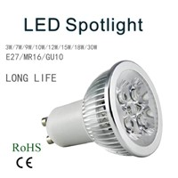 High power MR16 LED spotlight manufacturer