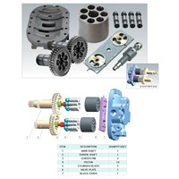 Hitachi HPV083 Hydraulic pump spare parts