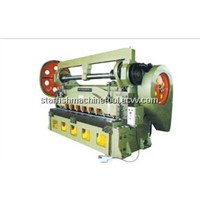 Mechanical plate shearing machine