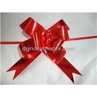 Metallized Butterfly Pull Bow