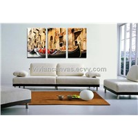 Mordern canvas painting 3 panel custom available hot selling paintings