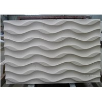 Natural limestone 3d wall covering panels