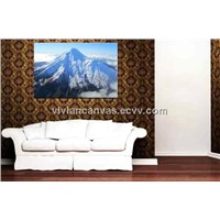 Natural scenery photo print on canvas custom canvas painting for room decoration