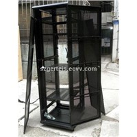 Network Server Cabinets, Made of SPCC Quality Cold Rolled Steel
