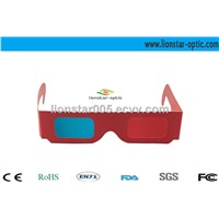 Red Blue Paper 3d Glasses