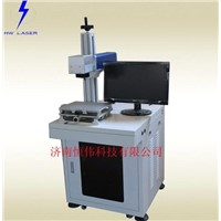 Optical fiber 20w laser marking machine for metal and non-metal materials