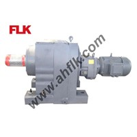 R series helical reduction gear box
