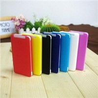 Real Capacity 5000 mAh Built In Micro USB Cable  Backup Battery Charger For Samsung /iPhone