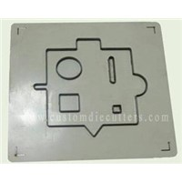 Rubber board based die