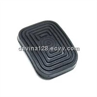 Rubber molded brake pedal pad