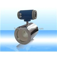 Stainless steel flow meter with ceramic liner