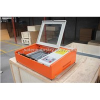 Stamp making small cnc laser engraving machine