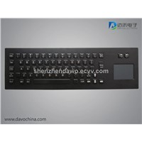 Terminal keyboard with touchpad D-8608B