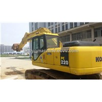Used Komatsu excavator pc220-7 for sale