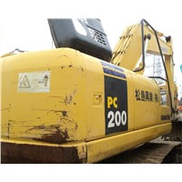 Used Komatus Crawler Excavator PC200-7