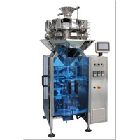 coffee beans, pet food, small hardware, frozen food, snack weighing and packing 2 in 1 machine