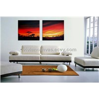 Wholesale large canvas prints photo prints on canvas for home decoration