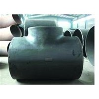 black pipe fittings tee sch40 supplier